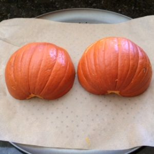 Baking The Pumpkin
