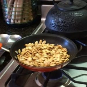 Pumpkin Bonus! Toasting Those Incredible Pumpkin Seeds