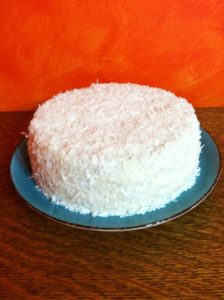 Limoncello Coconut Cake Series - Part 2 - The Cake