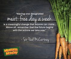 Meatless Monday – November 7, 2016