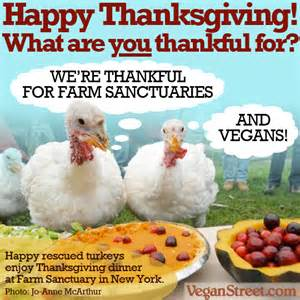 Vegan Street's Farm Sanctuary's Thanksgiving