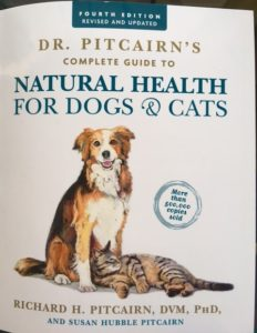 Dr. Pitcairn's Complete Guide to Natural Health For Dogs & Cats, 4th Edition, Out on Shelves 3/21/17