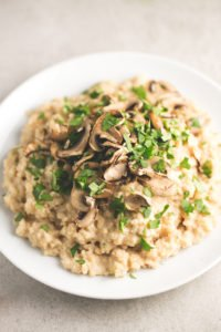 Mushroom Risotto (and More) Made Easy