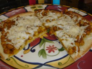 India meets Italy on this Indian Pizza