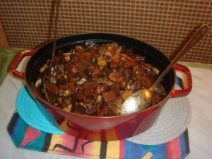 Veganification's Homage to Julia Child and Boeuf Bourguignonne