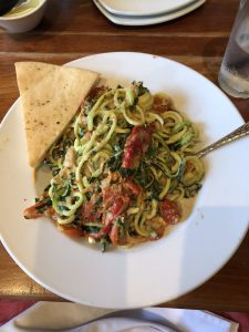 Zucchini Primavera - Dinner and a Movie