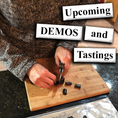 Upcoming Demos and Tastings with Veganification®